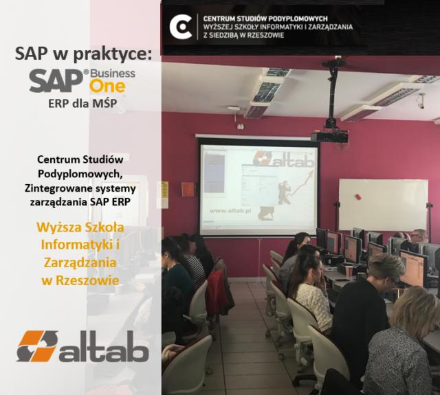 Altab w Wyższej Szkole Informatyki i Zarządzania w Rzeszowie