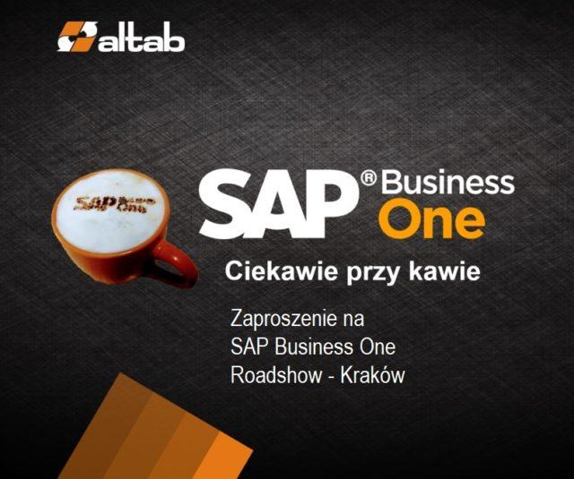 Zaproszenie na SAP Business One RoadShow Kraków