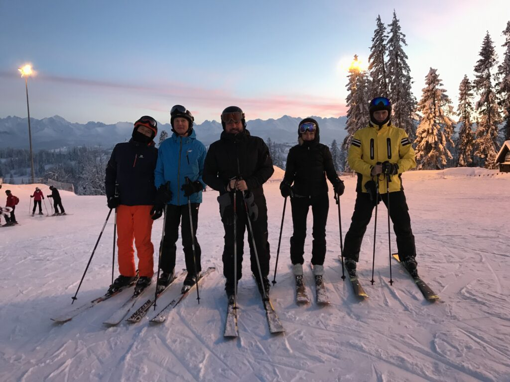 Partner SAP - narty, śnieg