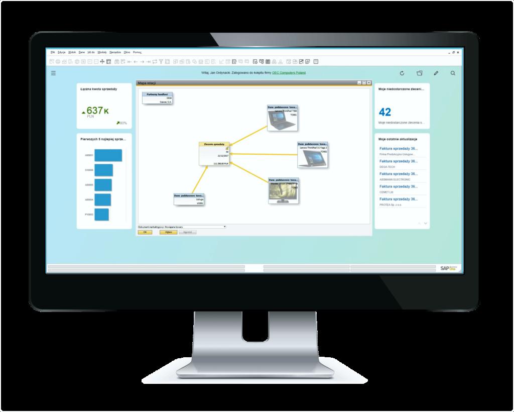 Business Intelligence - błyskawiczne raportowanie i wielowymiarowe analizy w SAP Business One