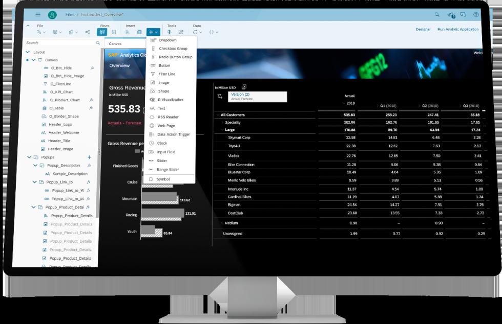 SAP Analytics - analizy dla biznesu