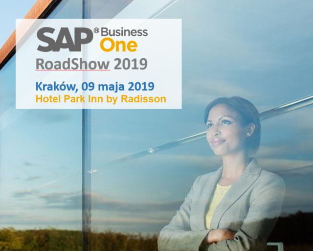 Zapraszamy na SAP Business One RoadShow 2019 w Krakowie