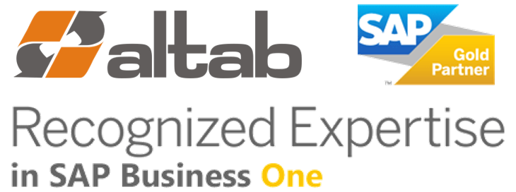 Altab - SAP Business One Recognize Expertise SAP Business One