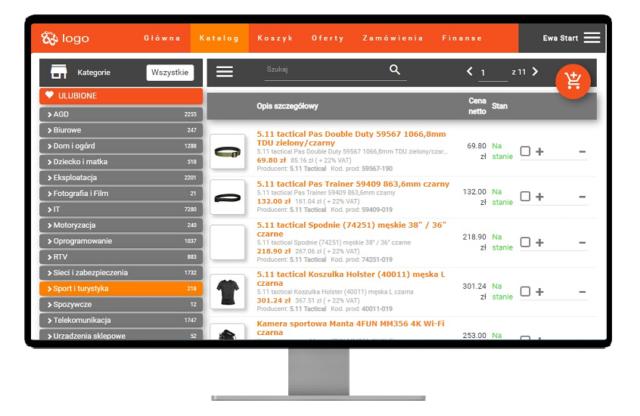 Platforma B2B dla SAP Business One