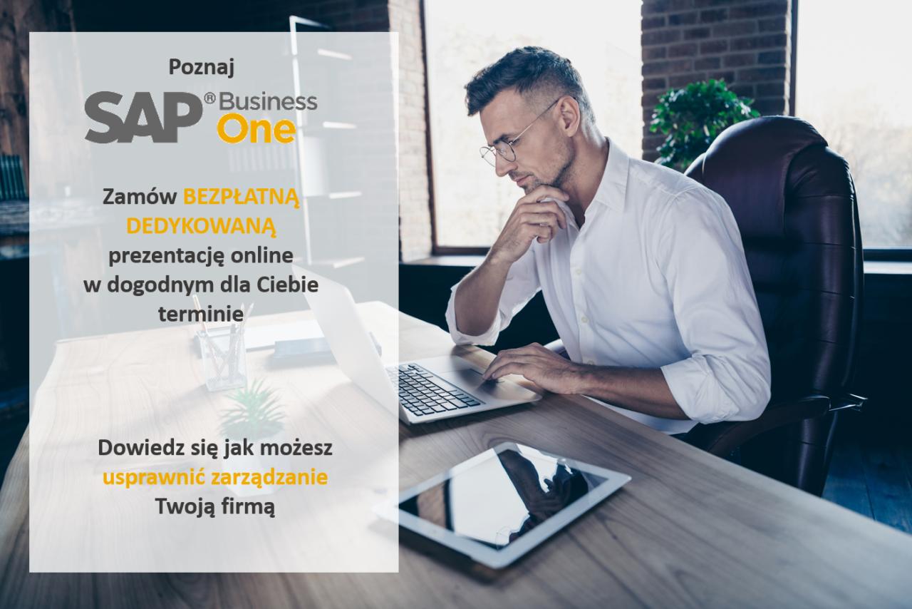 Zamów prezentację online SAP Business One