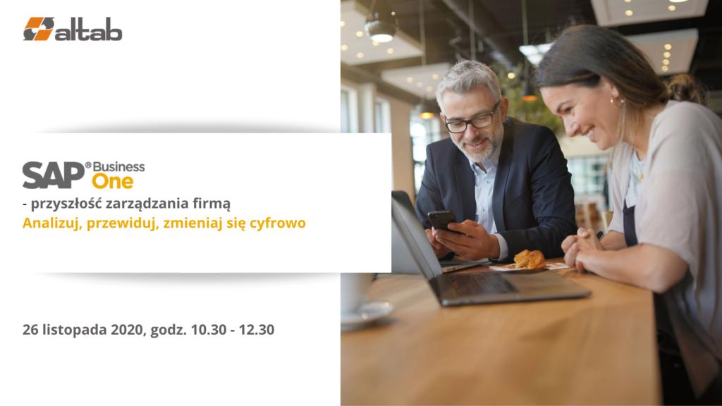 SAP Business One przyszłość zarządzania firmą