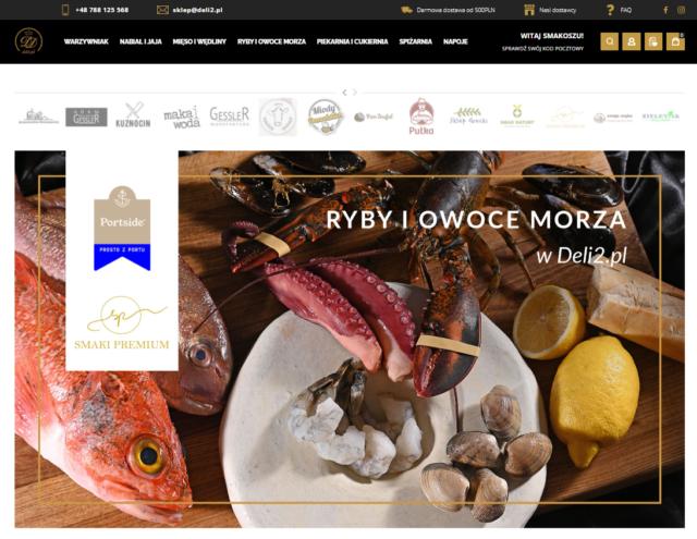 Luksusowe delikatesy online – serwis deli2.pl już dostępny