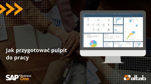 Personalizowane pulpity w SAP Fiori